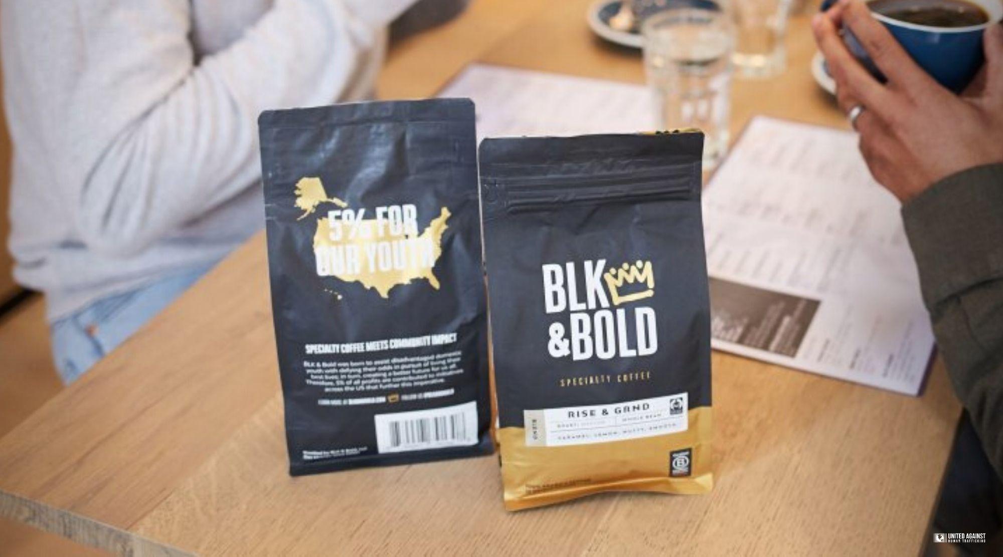 BLK + Bold Coffee